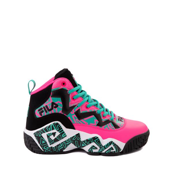 Fila MB Athletic Shoe - Big Kid - Pink / Black / Teal