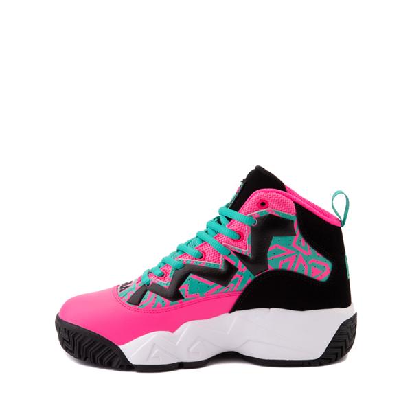 alternate view Fila MB Athletic Shoe - Big Kid - Pink / Black / TealALT1