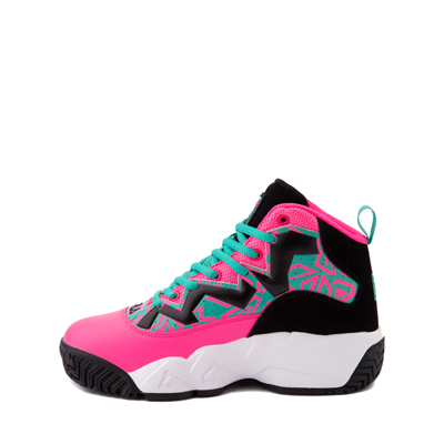 Alternate view of Fila MB Athletic Shoe - Big Kid - Pink / Black / Teal