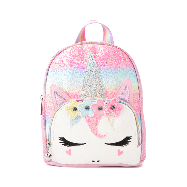 Unicorn Mini Backpack - Pink / Rainbow
