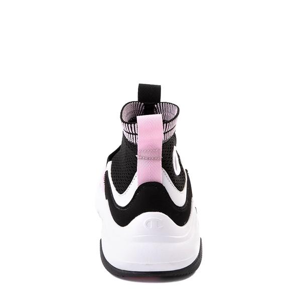 alternate view Champion Hyper CX Athletic Shoe - Little Kid - Black / PinkALT4