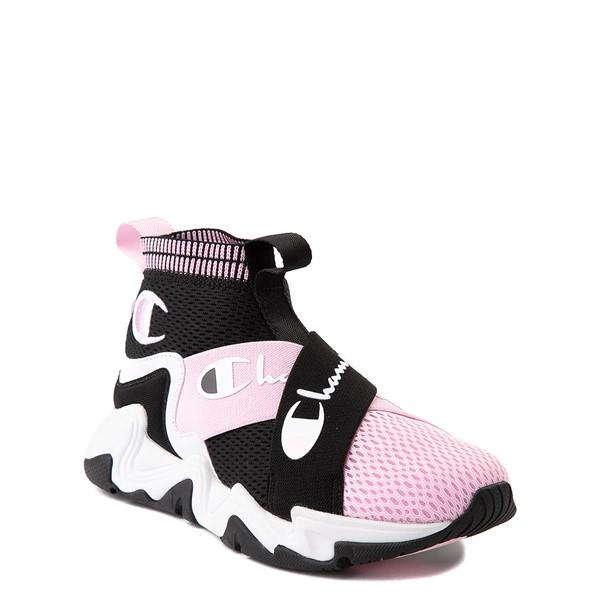 alternate view Champion Hyper CX Athletic Shoe - Little Kid - Black / PinkALT5