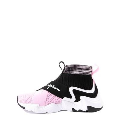 Alternate view of Champion Hyper C X Athletic Shoe - Little Kid - Black / White / Pink