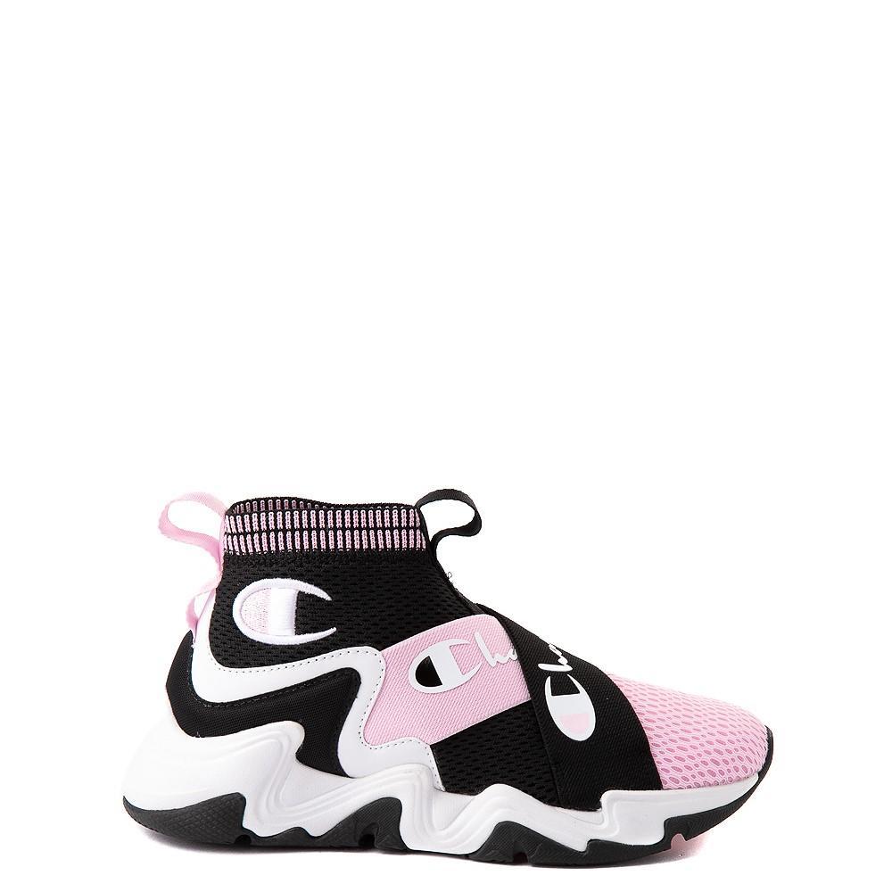 Champion Hyper CX Athletic Shoe - Little Kid - Black / Pink