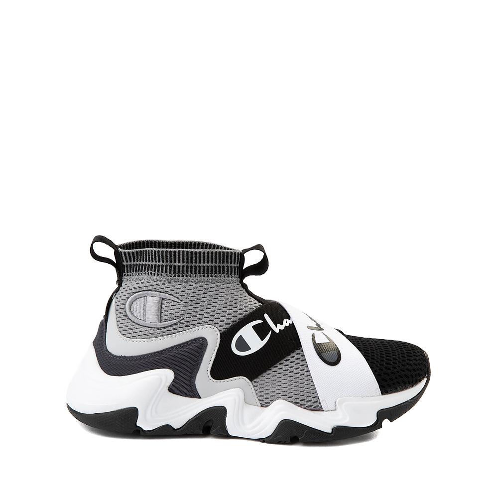 Champion Hyper C X Athletic Shoe - Big Kid - Gray / Black