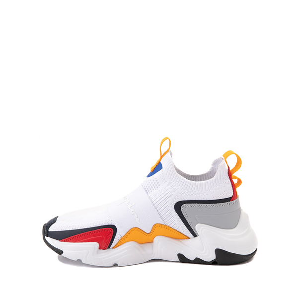 alternate view Champion Hyper C Speed Athletic Shoe - Little Kid - White / MulticolorALT1