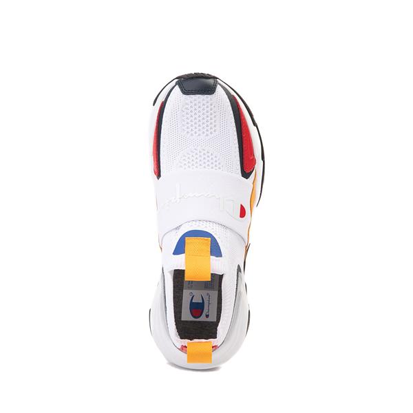 alternate view Champion Hyper C Speed Athletic Shoe - Little Kid - White / MulticolorALT2