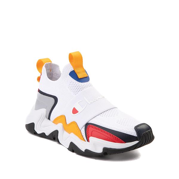 alternate view Champion Hyper C Speed Athletic Shoe - Little Kid - White / MulticolorALT5