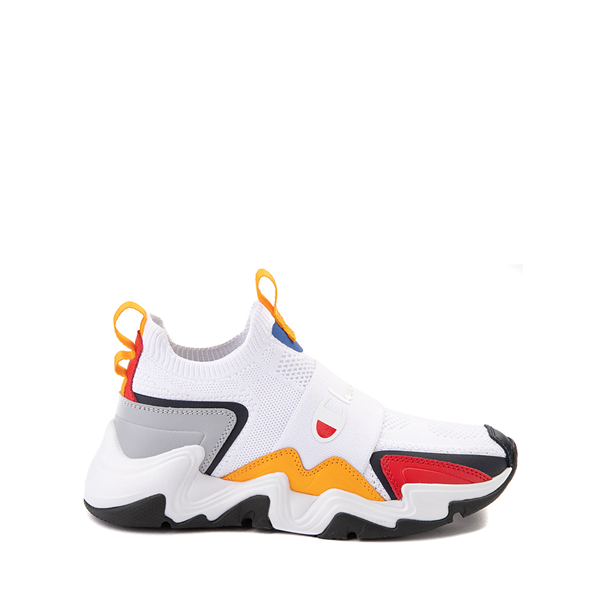 Champion Hyper C Speed Athletic Shoe - Big Kid - White / Multicolor