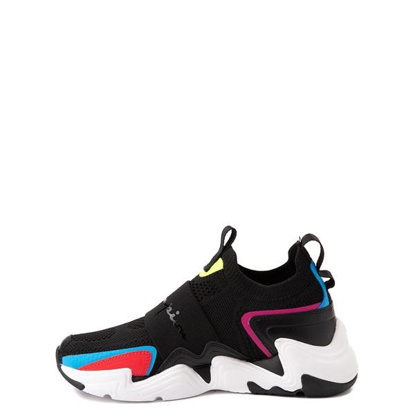 alternate view Champion Hyper C Speed Athletic Shoe - Big Kid - Black / MulticolorALT1