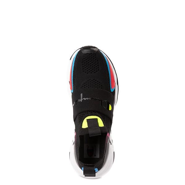 alternate view Champion Hyper C Speed Athletic Shoe - Big Kid - Black / MulticolorALT2