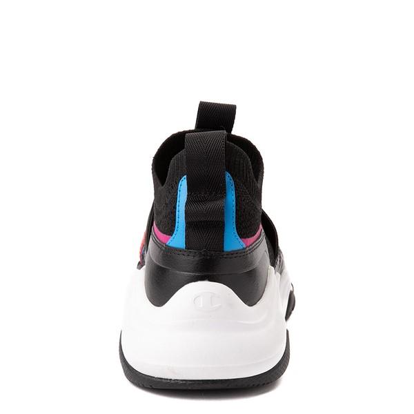 alternate view Champion Hyper C Speed Athletic Shoe - Big Kid - Black / MulticolorALT4