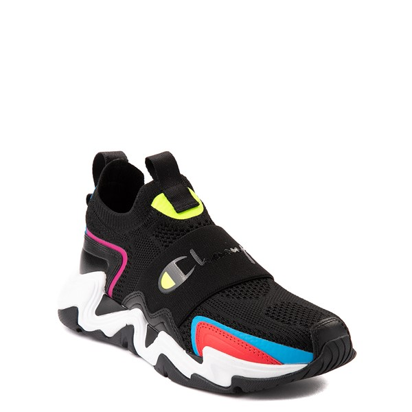alternate view Champion Hyper C Speed Athletic Shoe - Big Kid - Black / MulticolorALT5