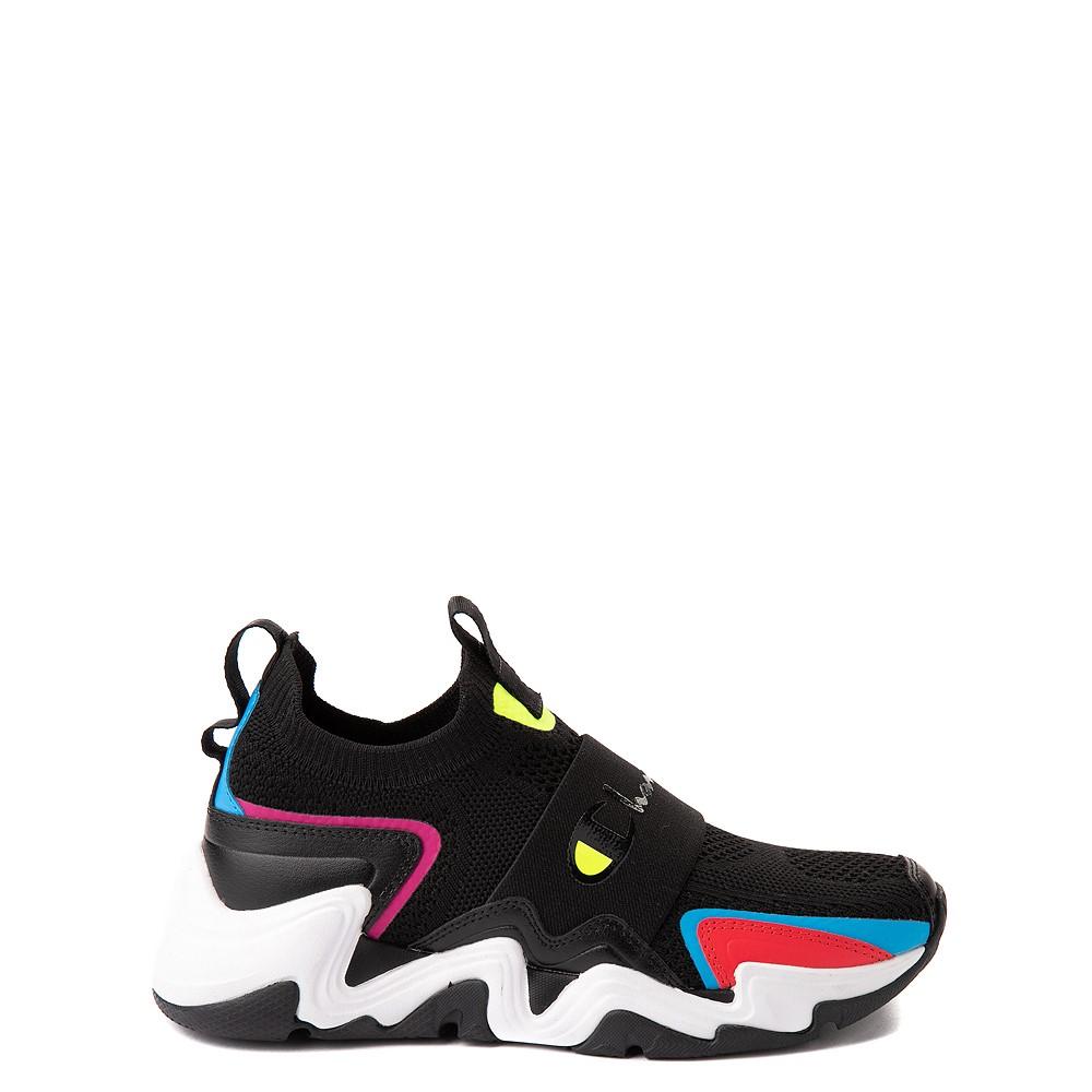 Champion Hyper C Speed Athletic Shoe - Big Kid - Black / Multicolor