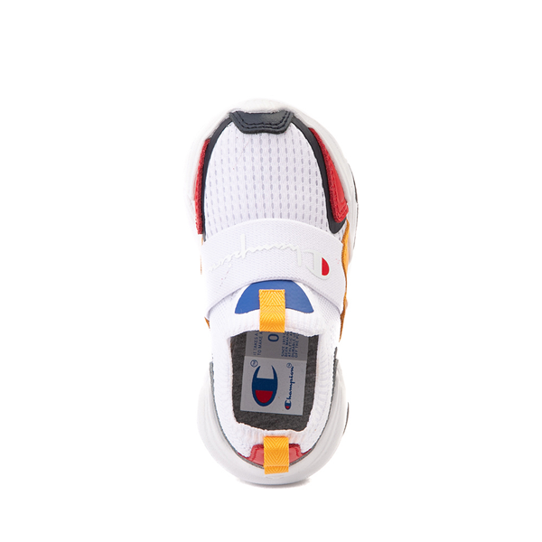 alternate view Champion Hyper C Speed Athletic Shoe - Baby / Toddler - White / MulticolorALT2