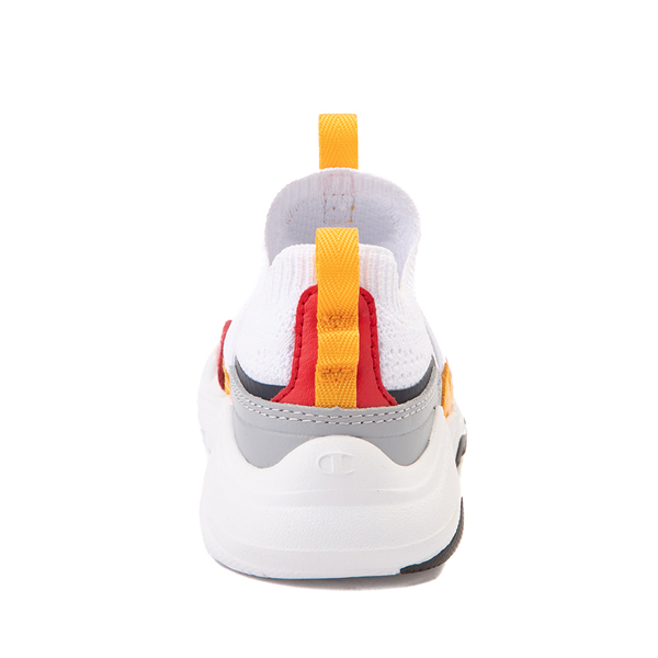alternate view Champion Hyper C Speed Athletic Shoe - Baby / Toddler - White / MulticolorALT4