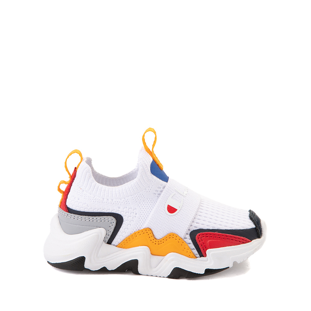 Champion Hyper C Speed Athletic Shoe - Baby / Toddler - White / Multicolor