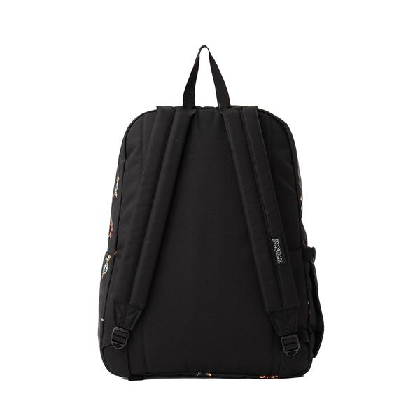 alternate view JanSport Superbreak Plus Backpack - Black / TattoosALT2
