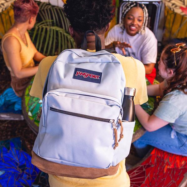 alternate view JanSport Right Pack Backpack - Blue DuskALT1BADULT