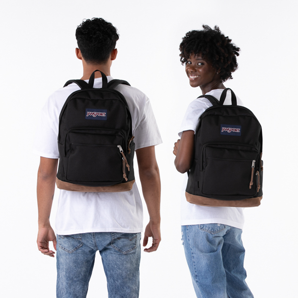 alternate view JanSport Right Pack Backpack - BlackALT1BADULT