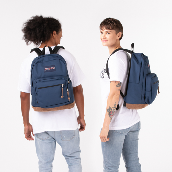 alternate view JanSport Right Pack Backpack - NavyALT1BADULT