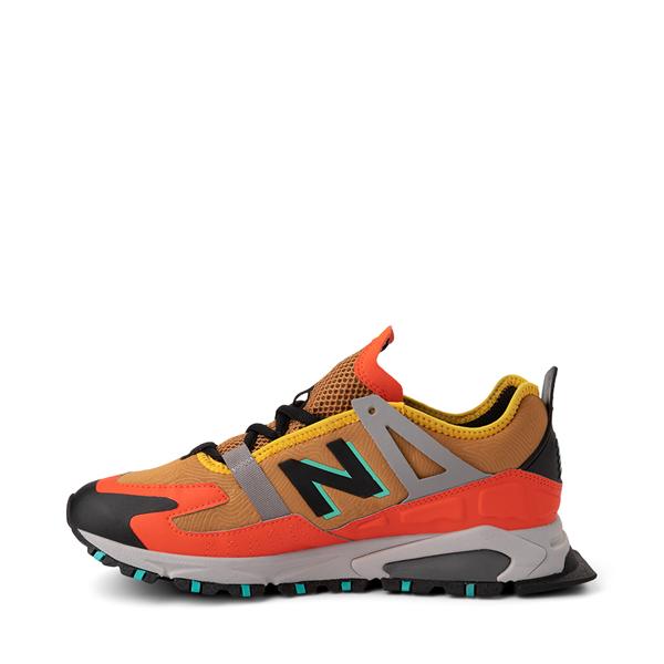 alternate view Mens New Balance X-Racer Athletic Shoe - Tan / OrangeALT1