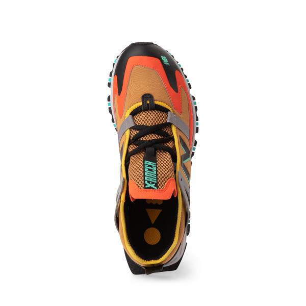 alternate view Mens New Balance X-Racer Athletic Shoe - Tan / OrangeALT2