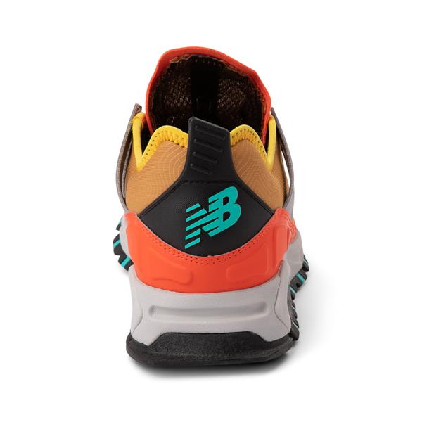 alternate view Mens New Balance X-Racer Athletic Shoe - Tan / OrangeALT4