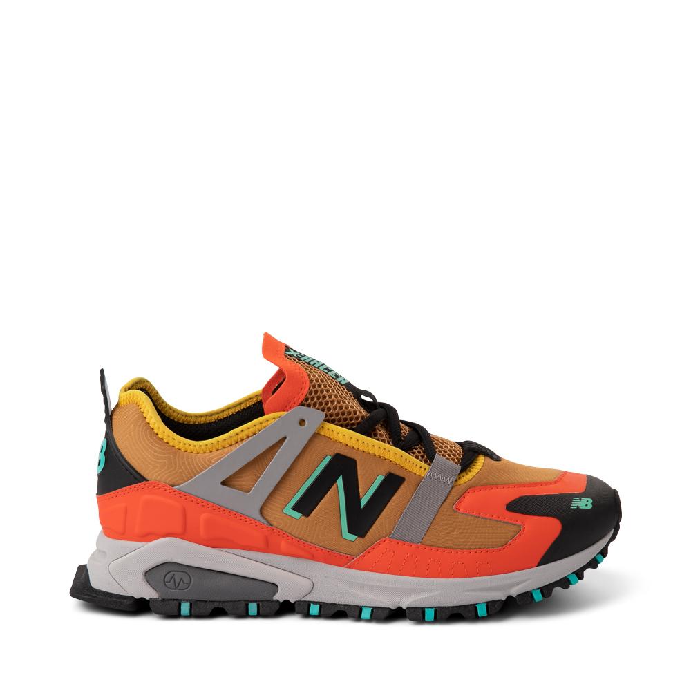 Mens New Balance X-Racer Athletic Shoe - Tan / Orange