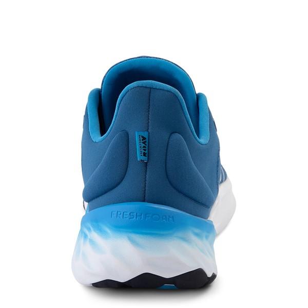 alternate view Mens New Balance Fresh Foam Roav Athletic Shoe - Oxygen BlueALT4