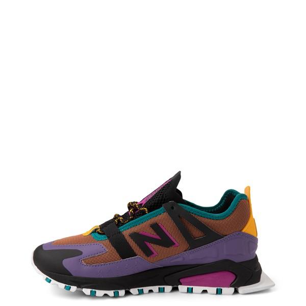 alternate view Womens New Balance X-Racer Athletic Shoe - Purple / BrownALT1