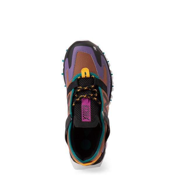alternate view Womens New Balance X-Racer Athletic Shoe - Purple / BrownALT2