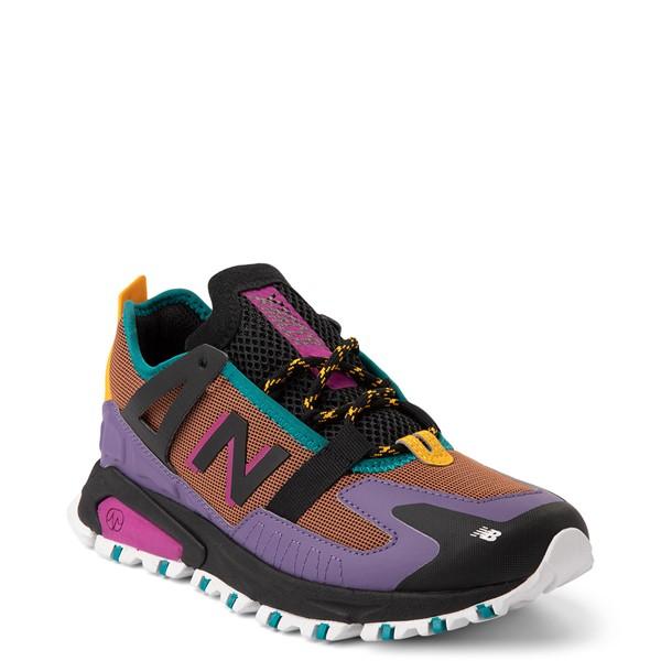 alternate view Womens New Balance X-Racer Athletic Shoe - Purple / BrownALT5