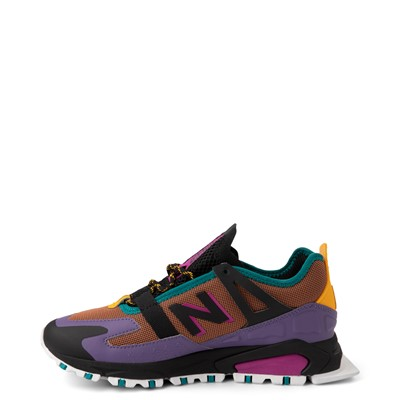 Alternate view of Womens New Balance X-Racer Athletic Shoe - Purple / Brown