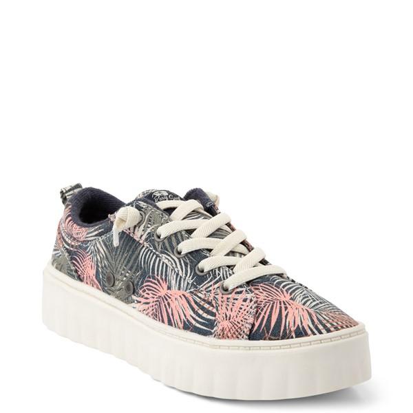 alternate view Womens Roxy Sheilahh Platform Casual Shoe - Black / Palm TreesALT5