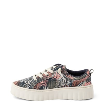Alternate view of Womens Roxy Sheilahh Platform Casual Shoe - Black / Palm Trees