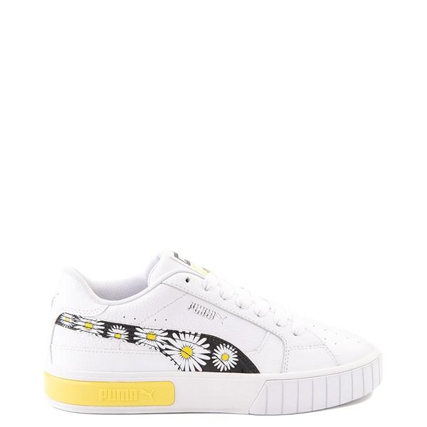 Womens Puma Cali Star Athletic Shoe - White / Daisy