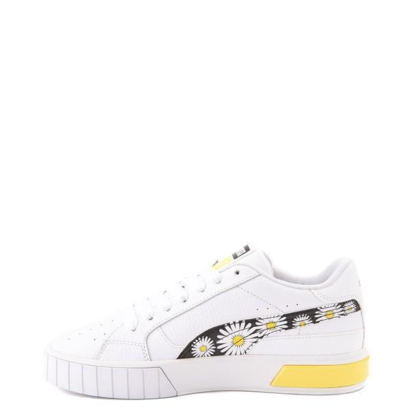 alternate view Womens Puma Cali Star Athletic Shoe - White / DaisyALT1