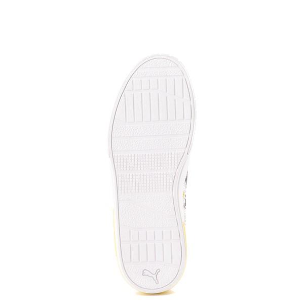 alternate view Womens Puma Cali Star Athletic Shoe - White / DaisyALT3