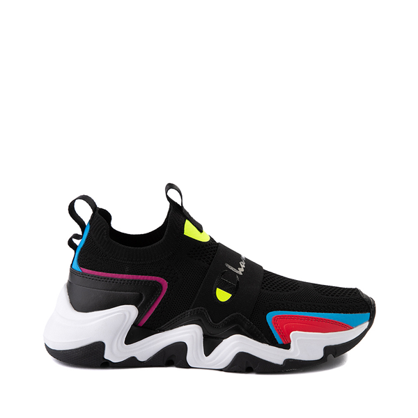 Mens Champion Hyper C Speed Athletic Shoe - Black / Multicolor
