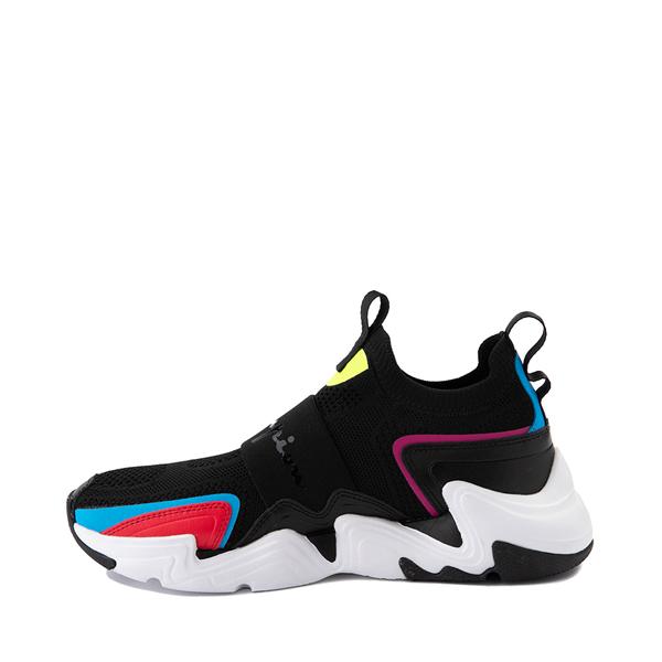 alternate view Mens Champion Hyper C Speed Athletic Shoe - Black / MulticolorALT1