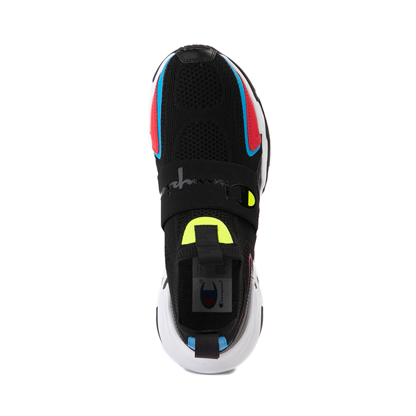 alternate view Mens Champion Hyper C Speed Athletic Shoe - Black / MulticolorALT2