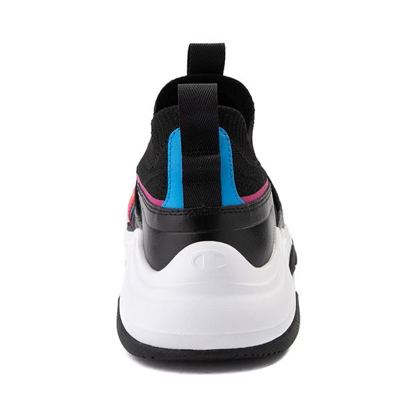alternate view Mens Champion Hyper C Speed Athletic Shoe - Black / MulticolorALT4