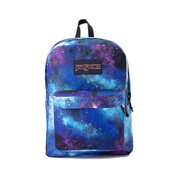 JanSport Superbreak Plus Deep Space Backpack - Multi