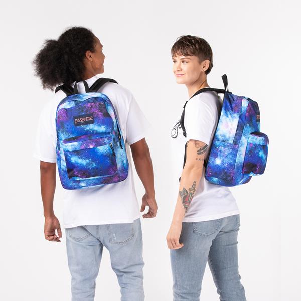 alternate view JanSport Superbreak Plus Backpack - Deep SpaceALT1BADULT