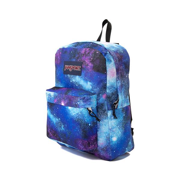 alternate view JanSport Superbreak Plus Backpack - Deep SpaceALT4