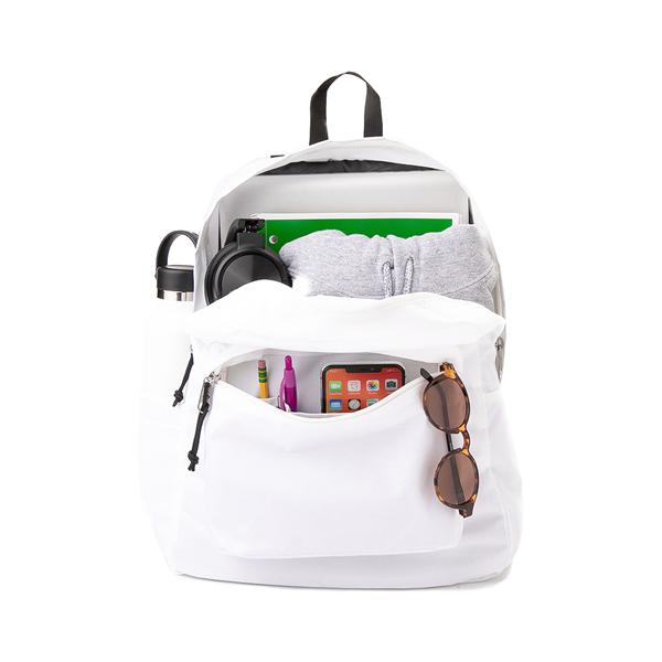 alternate view JanSport Superbreak Plus Backpack - WhiteALT1