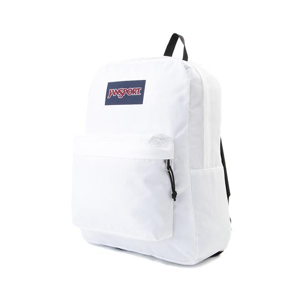 alternate view JanSport Superbreak Plus Backpack - WhiteALT4