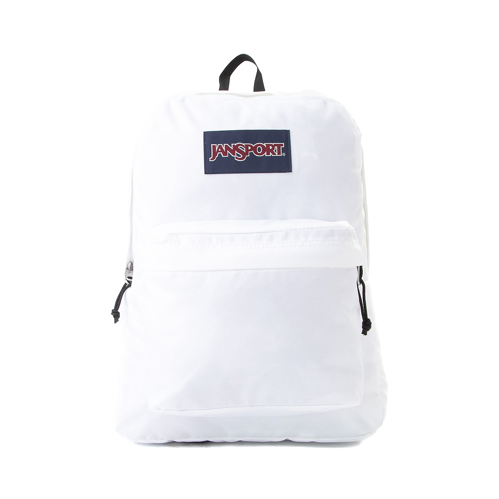 JanSport Superbreak Plus Backpack - White