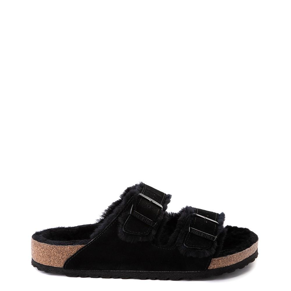 Mens Birkenstock Arizona Shearling Sandal - Black